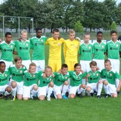 FC Dordrecht onder 14 verliest tegen ADO onder 14