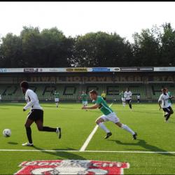 Jong-FC Dordrecht wint met 5-0 van Eritrea