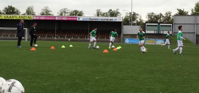 Woensdag 24 mei 2017 traint de Voetbalschool