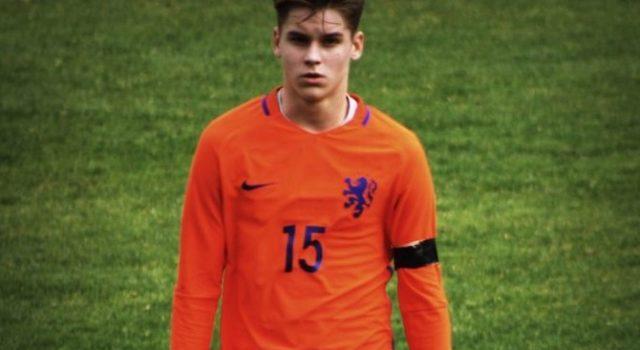 Ramon Hendriks geselecteerd voor Oranje O/16 in Japan