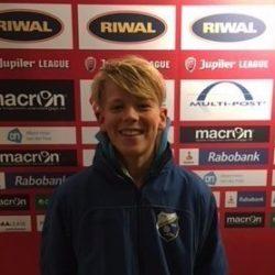 Merijn Heezen van vv Sliedrecht naar FC Dordrecht Onder 14