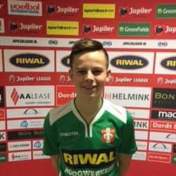 Kick van Huuksloot naar FC Dordrecht Onder 14