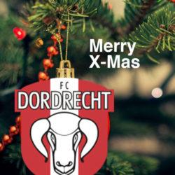 Fijne feestdagen namens FC Dordrecht