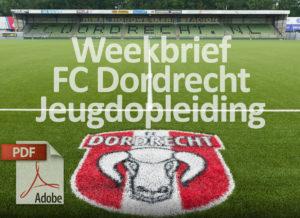 FC Dordrecht Jeugdopleiding weekbrief