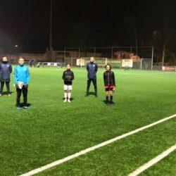 3 stagespelers voetbalschool uitnodiging voor O14 seizoen 21/22 ontvangen