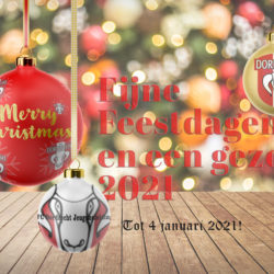Fijne feestdagen namens de FC Dordrecht Jeugdopleiding