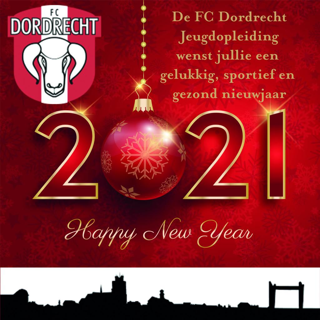 happy new year FC Dordrecht Jeugdopleding