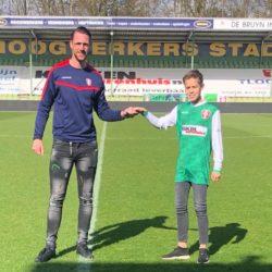 Daan Nieuwkoop aangenomen voor FC Dordrecht O14 '21 / '22