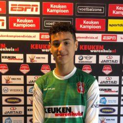 Ilias Azouagh van DHC komend seizoen FC Dordrecht O14