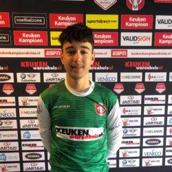 Mikail Yaman 6e nieuwkomer O14 seizoen 2021 / 2022