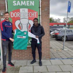 Gregory Barnie komend seizoen FC Dordrecht O17