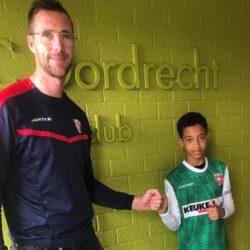 Junior dos Reis Borges komend seizoen FC Dordrecht O14
