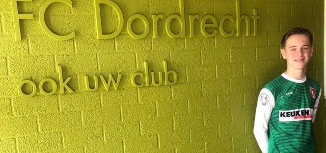Luuk Deleersnyder van Drechtstreek naar FC Dordrecht O14