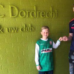 Milan Reedijk van DHC naar FC Dordrecht O14 seizoen 2021 / 2022