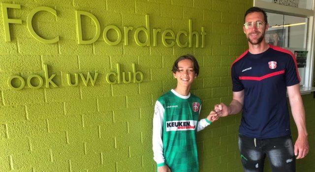 Nadim Jouhri van RCD naar FC Dordrecht O14 seizoen 2021 / 2022